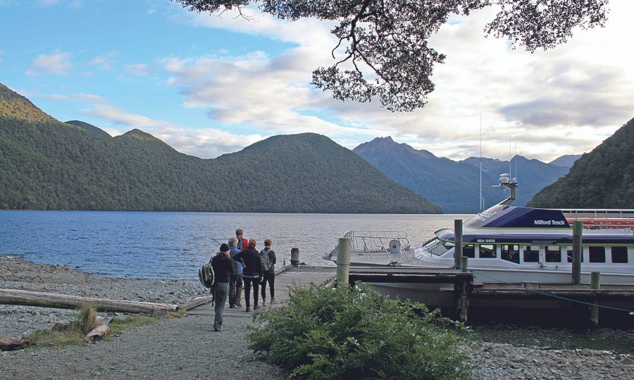 Milford Track Lake Te Anau Transfers Real Journeys 1