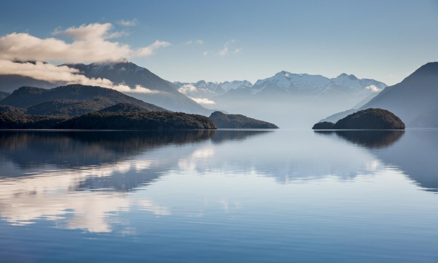 Milford Track Lake Te Anau Transfers Real Journeys 2