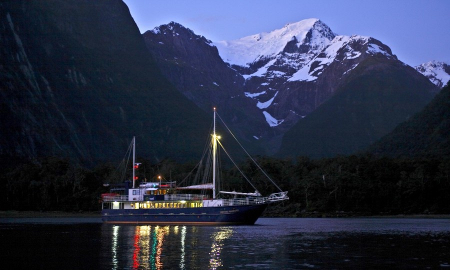 Milford Wanderer Overnight Cruises Real Journeys 1