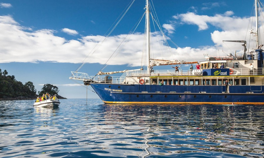 Milford Wanderer Overnight Cruises Real Journeys 2