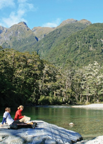 Milford Track Guided Day Walk Real Journeys 1