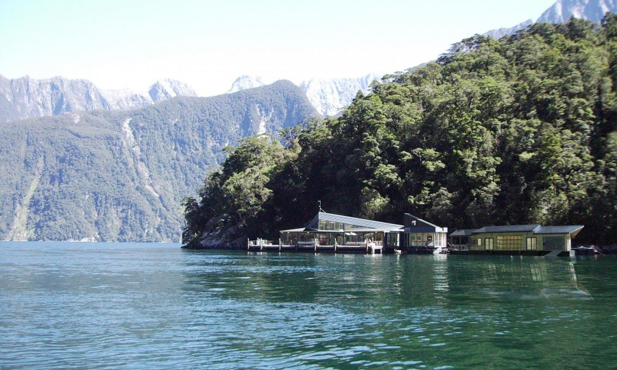 Milford Sound Underwater Observatory and proposed kayak facility2