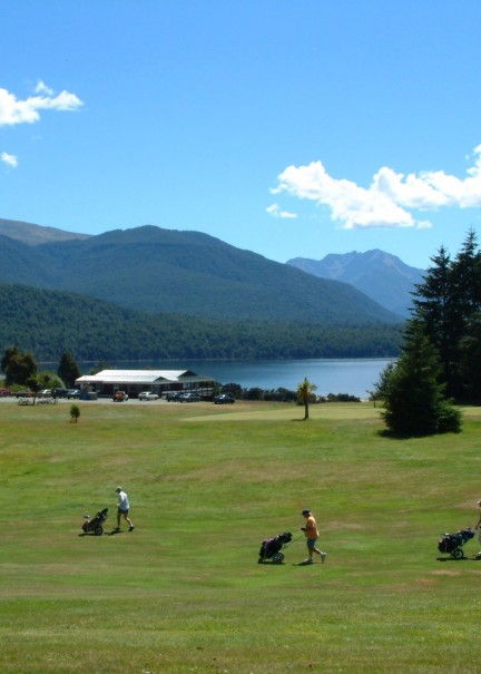 Golf Fiordland clubhouse