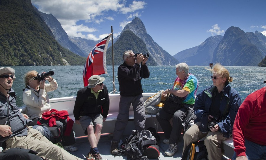 Group on Milford Sound web