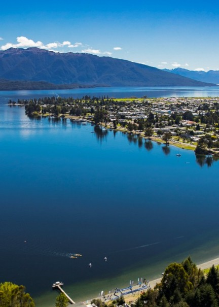 Te Anau by air